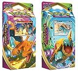 Pokemon Sword and & Shield Vivid Voltage Theme Decks Charizard & Drednaw