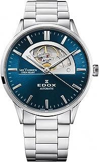 EDOX - Les Vauberts Open Heart Reloj de Hombre automático 43mm 85014 3M BUIN