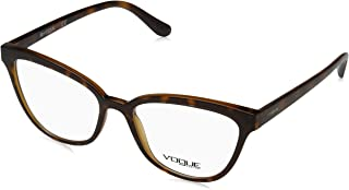 af04d363ef Vogue 0Vo5202 Monturas de gafas, Top Dk Havana/Light Brown, 54 para Mujer