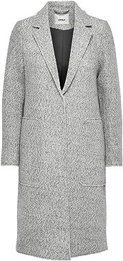 ONLY Onlstacy Long Wool Coat CC OTW Manteau Femme
