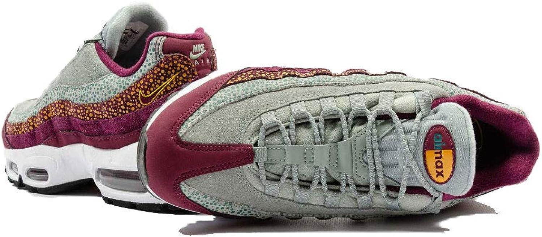 Amazon.com   Nike Women's Air Max 95 PRM Bordeaux/Yellow Ochre ...