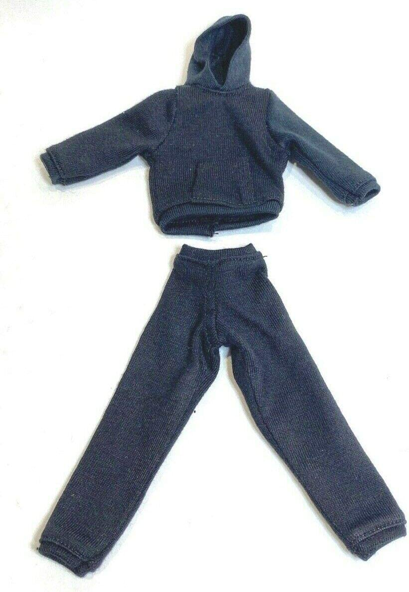 FIGLot Choice 1 12 Black Hoodie Sweat Pants Mezco M for Large discharge sale Legends Body