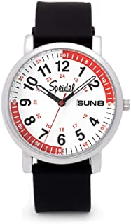 Scrub 30 Medical Watch Version 2 - Pulsometer, Date Window, 24 Hour Marks, Second Hand, Luminous Hands