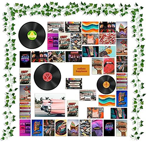 Ästhetisches Bild für Wandcollage, indische Raumdekoration, Kunstposter für Schlafsaal, Wandkunstdrucke für VSCO Mädchen Jungen, Party-Foto-Display, Schlafzimmer-Dekor für Musikliebhaber