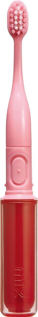 かすれた外国人地震ラドンナ 携帯音波振動歯ブラシ mix (ミックス) MIX-ET ピンク
