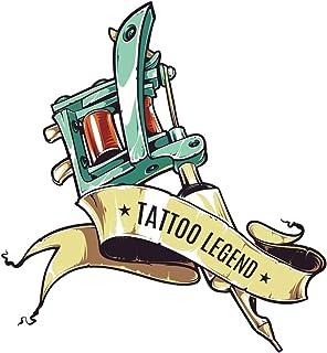 Tattoo Legend: Tattoo Designs Practice Book