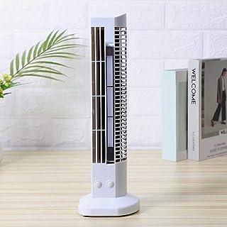 Mini Ventilador de Mesa, Mini Ventilador, silencioso y Potente, 2 configuraciones de Velocidad Ventilador de Torre oscilante para Viajes de Oficina en casa, Ideal para el Escritorio Incl.