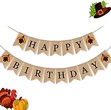 لافتة عيد ميلاد سعيد من SWYOUN من الخيش من الخيش مع تركي لتزيين حفلات أعياد الميلاد