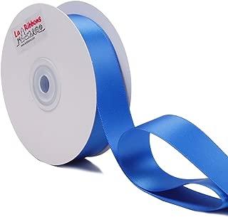 LaRibbons 1 inch Wide Double Face Satin Ribbon - 25 Yard (350-Royal Blue)