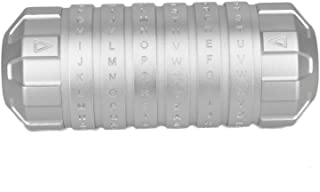 STEAMOKE The Da Vinci Code Innovative cryptex Gifts for Lovers, Parents,Friends with Big Surprise Silver