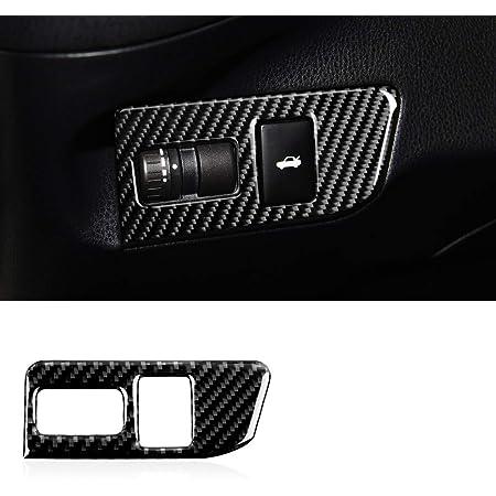 Carbon Fiber Trunk Opener Button Frame Trim Cover Interior For BRZ 86 FRS 13-19
