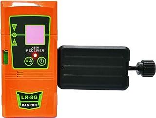 Danpon グリーンレーザー墨出し器用受光器 ホルダー付き LED表示灯付き ブザー音 測量用品 LR-8G