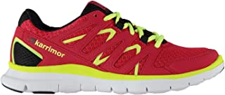 Karrimor Kids Duma Junior Girls Running Shoes Breathable Mesh Lace Up Sports