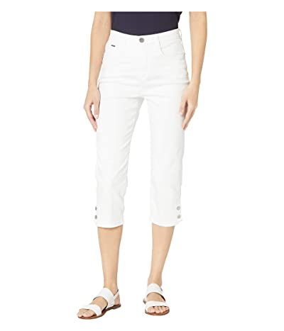 FDJ French Dressing Jeans Soft Hues Denim Suzanne Capris in White (White) Women