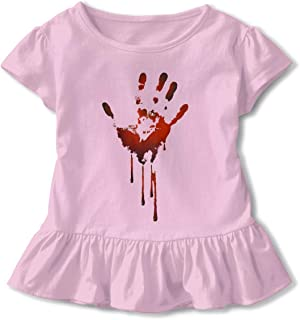 JVNSS A New Sweet Shirt Comfort Baby Girl Flounced T Shirts Tee Shirts for 2-6T Baby Girls
