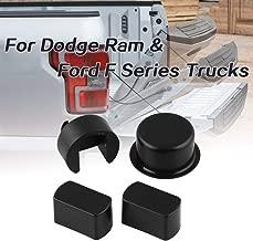 Ruien 4 Piece Tailgate Hinge Pivot Bushing Insert Kit for Dodge Ram & Ford F Series Trucks