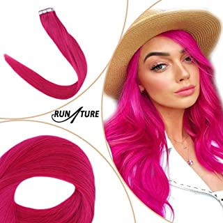 hot pink curly hair