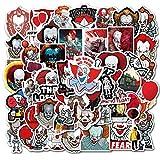 TV New Movie Clown Series Sticker Valigia Decal Super Impermeabile Graffiti Laptop Sticker 50 Pz