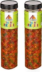 N Nakodas Tutti-Frutti Cherry Fresh Fruits Combo, 700gm (350gm Pack of 2)