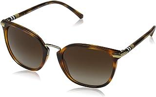 نظارات شمسية بتصميم مربع للنساء من بيربري - 4262-331613 - 53-21-140 ملم، عدسات بنية