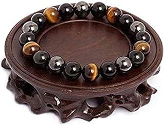 ARMONY PARIS Bracelet Pierre Naturelle Cadeau Homme Femme Cadeau Noel Bracelet Homme Femme Perle Semi précieuse Oeil de Ti...