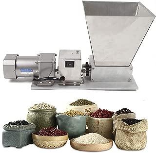 ZHFEISY 1 PC Grain Mills - Electric Grain Mill Barley Grinder Malt Crusher Grain Mill Food Grinders Home Brew Mill Dy-368