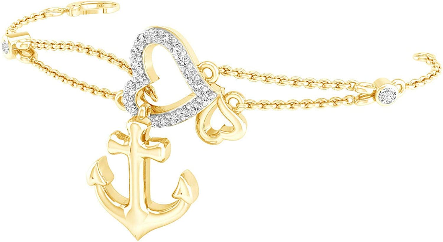 Elegant Touch 925 Sterling Bargain sale Silver Infinity S Heart Anchor Love Our shop most popular