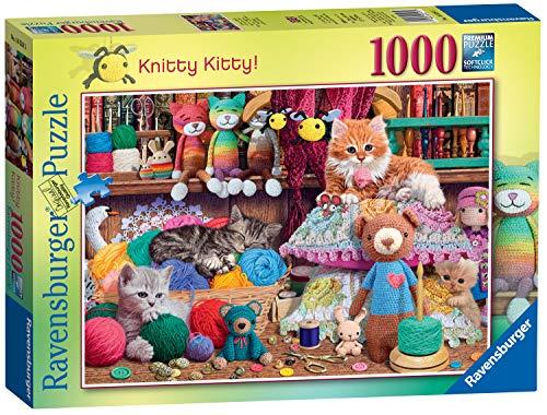 Ravensburger 16528 Knitty Kitty 1000 Teile Puzzle für Erwachsene & Kinder ab 12 Jahren