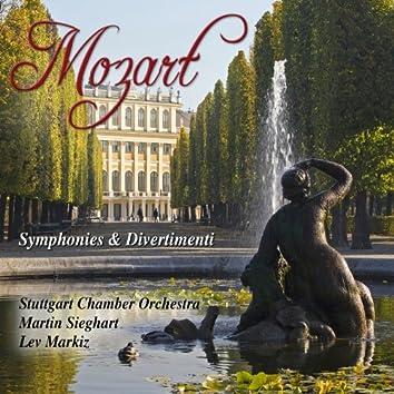 Mozart: Symphonies & Divertimenti