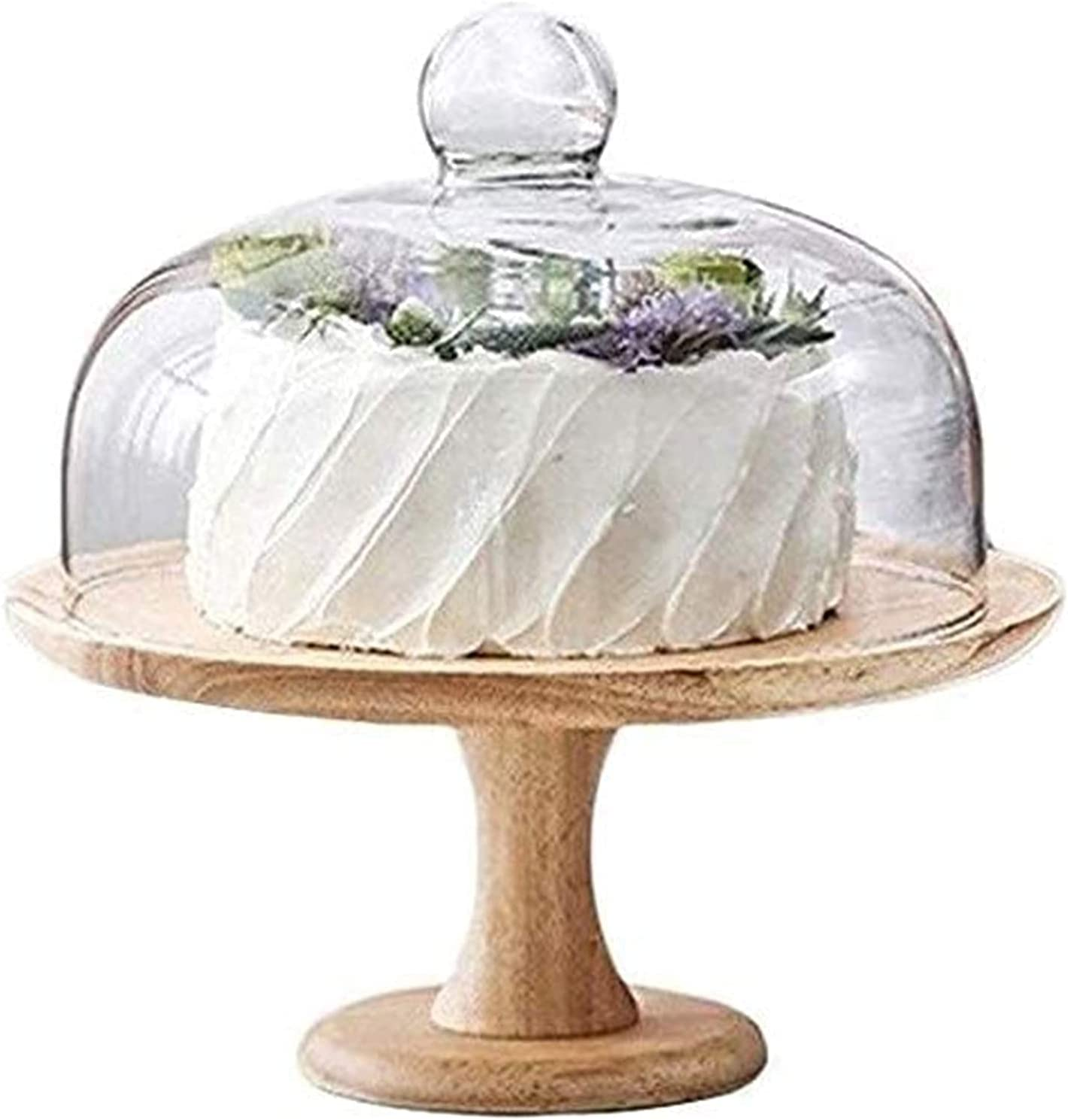Cake Max 81% OFF Stand with Dome Multi-Functional Holder St Salad Home Save money