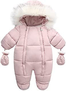 Sponsored Ad - Tumaron Baby Girl Winter Snowsuit Toddler Jacket Clothes for Boy Infant Jumpsuit Hoodied