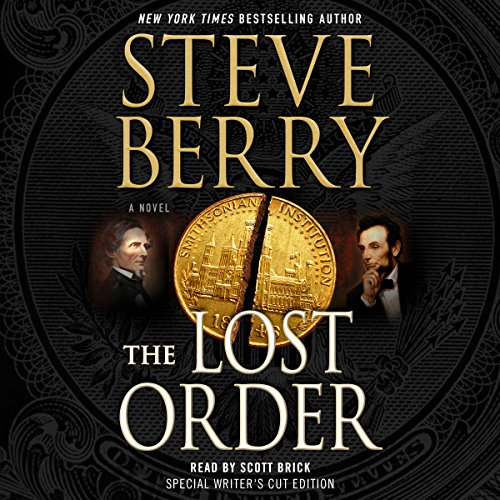 The Lost Order audiobook cover art