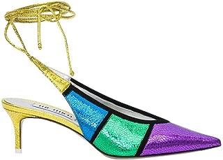 ATTICO Luxury Fashion Womens 192WS035L011066 Multicolor Sandals | Season Permanent