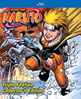 Naruto Triple Feature Collector's Edition [Blu-ray]