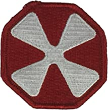 EIGHTH UNITED STATES ARMY EUSA UNIT Patch - Color - Veteran Owned Business.