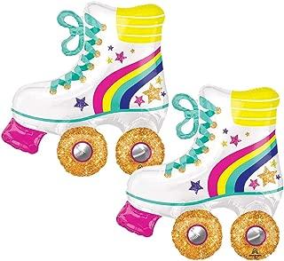 Set of 2 Glitter Roller Skate 30