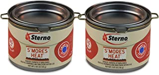 20261 S'Mores Heat Fuel Cans (2 Pack), Silver