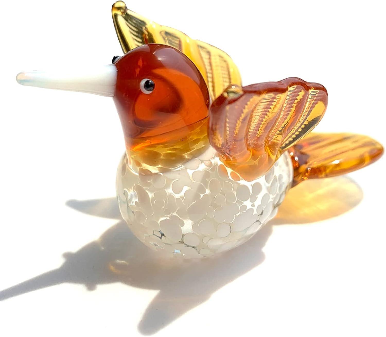 Crystal Bird Figurines Glass Animal Albuquerque Mall Paperweight Superlatite Decor Home Table