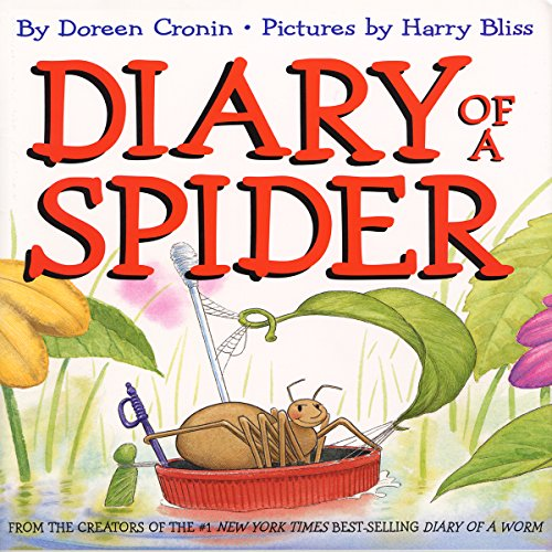Diary of a Spider audiobook cover art