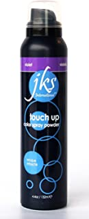 JKS Touch Up Spray VIOLET, temporary hair color spray powder. No commitment hair color