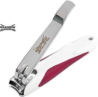 Wilkinson Sword Manicure Nagelknipper Voetnagelknipper Met Nagelvanger, Wit,Rood,Zilver