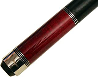 Players C-960 Classic Crimson Birds-Eye Maple with Triple Silver Rings Cue by Players