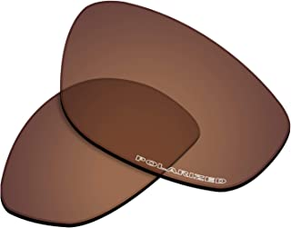 New 1.8mm Thick UV400 Replacement Lenses for Oakley Whisker Sunglass - Options