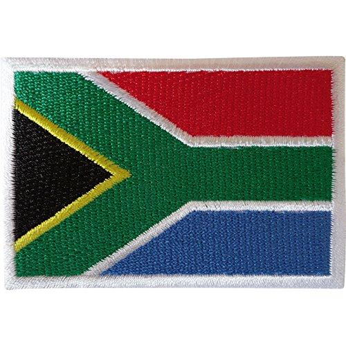 Aufnäher mit Südafrika-Flagge, zum Aufbügeln oder Aufnähen auf Kleidung, Jacke, Tasche, afrikanische bestickte Abzeichen