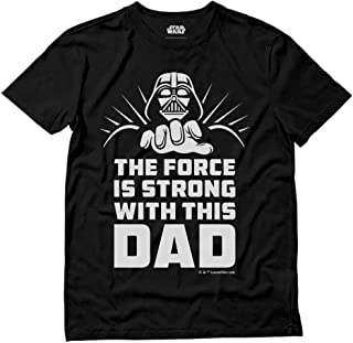 The Force is Strong with This Dad Official Star Wars Darth Vader T-Shirt