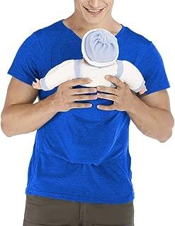 Kangaroo Care Dad Shirt Baby Wrap T-Shirt Baby Carrier Wrap Tank Shirt