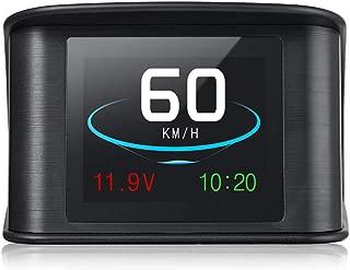 ACBungji Car Head up Display HUD OBD2 GPS Module Speedometer Head Up TFT LCD MPH Over Speed Alarm Voltmeter Warning Auto SUV RV DC 12V
