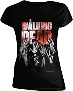 Mujer Camiseta Amazon esThe Dead Walking tdoQsxBhCr
