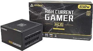 Antec HCG650 Unidad de - Fuente de alimentación (650 W, 100-240 V, 50-60 Hz, 9-4.5 A, Activo, 100 W)