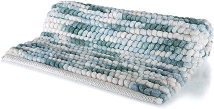 Spirella Kito Ocean 1018615Bath Mat 55x 65cm Microfibre Bath Mat, Polyester/Cotton, 65x 55x 17.5cm